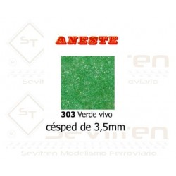 CESPED 3,5 mm. Verde vivo....