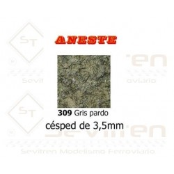 CESPED 3,5 mm. Gris pardo....