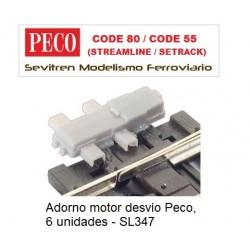 Adorno motor desvío Peco, 6...