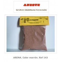 ARENA. Color marrón....