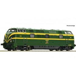 Locomotora Diesel 340 RENFE, analógica, Fleischmann 725010