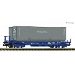 """Vagón portacontenedor """"Shun ping da Co.,Ltd"""", RENFE - Fleischmann 845375"""