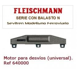 Motor para desvíos (universal). Ref 640000 (Fleischmann N)