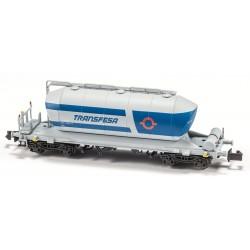 """Cementer Wagon """"Transfesa Blue/Grey"""" Epoch IV-V - Mftrain N34040"""