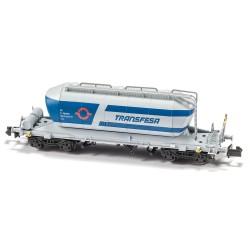 """Cementer Wagon """"Transfesa Blue/Grey"""" Epoch IV-V - Mftrain N34041"""