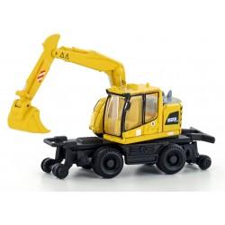 A922 rail excavator. Lemke - Minis LC4250