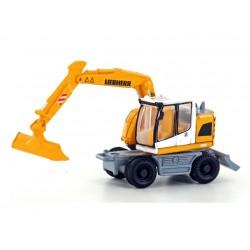 """Liebherr"" brand compact excavator. Lemke - Minis LC4251"