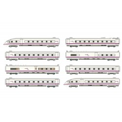 RENFE, 8-unit highspeed EMU, AVE S-103 in perlescent/purple livery, with DCC Digital Decoder - Arnold HN2445D