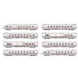 RENFE, AVE S-103, tren alta velocidad, set 8 unidades (Digital) - Arnold HN2445D