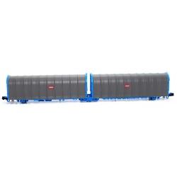 Platform wagon Lails Transfesa Ép.IV - Mftrain N33061