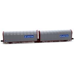 "Plataforma Doble Lona 3 ejes ""Lails"" - Ariston / Ariston FS - Mftrain N33071"