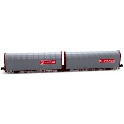 """Plataforma Doble Lona 3 ejes """"Lails"""" - Indesit / Indesit FS - Mftrain N33073"""