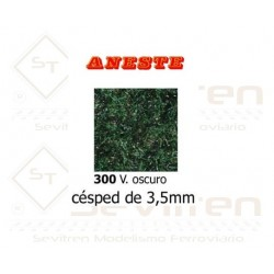 LAWN OF 3,5 mm HEIGHT. DARK GREEN. ANESTE - REF 300