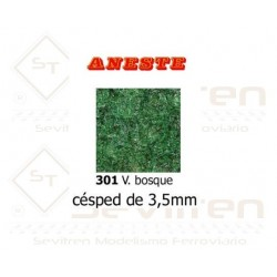 LAWN OF 3,5 mm HEIGHT. GREEN FOREST. ANESTE - REF 301