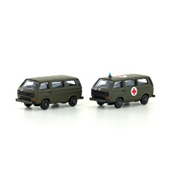 Set 2 T3 Swiss Military. Lemke - Minis LC 4337