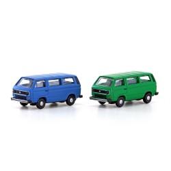 Set 2 Volkswagen T2 Bus...