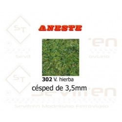 LAWN OF 3,5 mm HEIGHT. GREEN GRASS. ANESTE - REF 302
