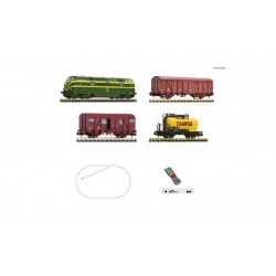 Digital Starter Set z21: Diesel locomotive class 340 and goods train, RENFE - Fleischmann 931894