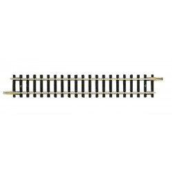 Straight track without bendable track bed, length 104,2 mm.. Ref 22202 (Roco/Fleischmann N)