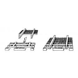 Sleeper end piece (24 units) Ref 22215 (Roco/Fleischmann N)