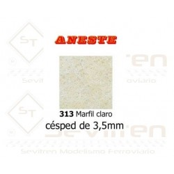 LAWN OF 3,5 mm HEIGHT. LIGHT IVORY. ANESTE - REF 313