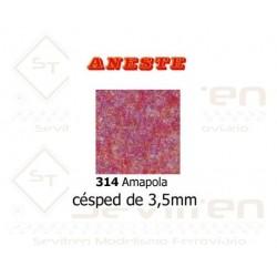 LAWN OF 3,5 mm HEIGHT. POPPY. ANESTE - REF 314