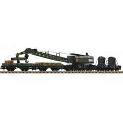 4 piece set crane train, DB - Fleischmann 859902