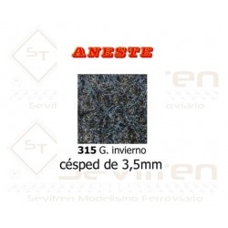 LAWN OF 3,5 mm HEIGHT. WINTER GRAY. ANESTE - REF 315