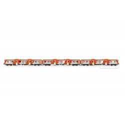 "RENFE, 3-unit diesel railcar 592, ""Regionales"", analogic, period V - Arnold HN2540"