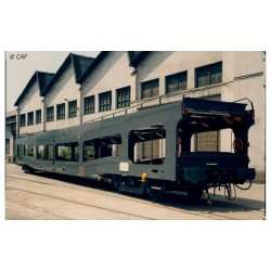 RENFE, 2-unit set DDMA autotransporter, original livery, period IV - Arnold HN4350