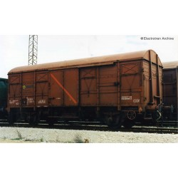"RENFE, 2-unit pack 2-axle closed wagon J2 ""vagones aislantes"" period IV-V- Arnold HN6518"