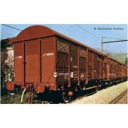 RENFE, 2-unit pack, ORE wagons, brown, period IV - Arnold HN6523