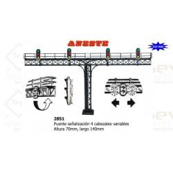 BRIDGE SIGNAL LED 4 HEADS. Aneste- Ref 2851
