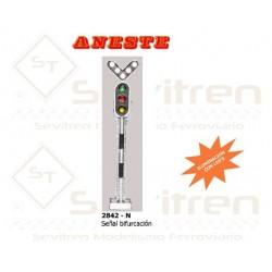 TRAFFIC LIGHT: LED FORK SIGNAL. Aneste- Ref 2842