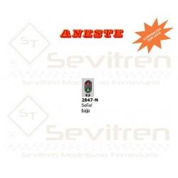 TRAFFIC LIGHT: LOW SIGNAL LED. Aneste- Ref 2847