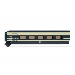RENFE, Talgo Pendular, restaurant coach in original blue/beige livery, period IV - Electrotren E3283