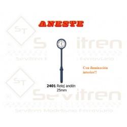 Platform watch 25 mm height (with light). Aneste - Ref 2401