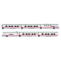 RENFE-SNCF, Talgo Elispsos, 6-unit, hotel train - Electrotren E3284