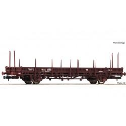 Swivel stake wagon, RENFE - Fleischmann 825737