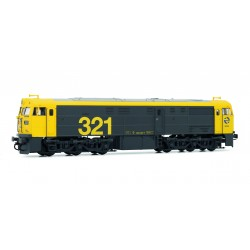 RENFE, Diesel locomotive 321 025, Taxi, Analogic - Electrotren E3119