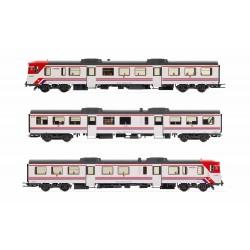 """RENFE, 3-unit DMU class 592 """"Cercanías"""", period V-VI, Digital- Electrotren E3420D"""