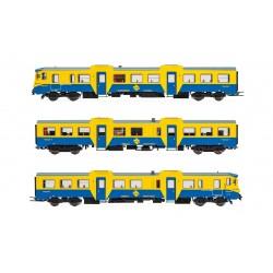 RENFE, 3-unit DMU class 592 in original blue/yellow livery, period IV-V, Analogic,- Electrotren E3421