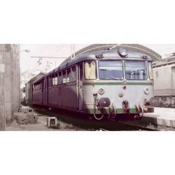 "RENFE, 2-unit diesel railcar ""Ferrobus"", class 591.400, period IV, Analogic - Electrotren E3617"