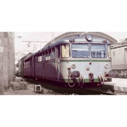 "RENFE, 2-unit diesel railcar ""Ferrobus"", class 591.400, period IV, Digital - Electrotren E3617D"