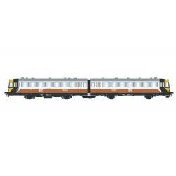 "RENFE, 2-unit diesel railcar ""Ferrobus"", class 591, ""Regionales"" livery, period V, Digital Sound - Electrotren HE2002S"