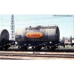 RENFE, 2-unit set 3-axle tank wagon, Elosua livery, period IV - Electrotren HE6024