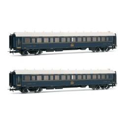 Venice-Simplon-Orient-Express, 2-unit pack of sleeping coaches - Rivarossi HR4321