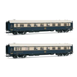 Venice-Simplon-Orient-Express, 2-unit pack of restaurant coaches - Rivarossi HR4322