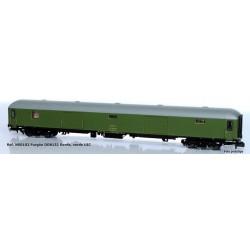 Furgón DD-8132 RENFE, verde UIC - Mftrain N50102