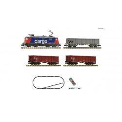 Set de iniciación digital z21 start con locomotora eléctrica Re 420 y tren de mercancías, DB. Fleischmann 931893